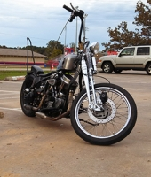 Cody's other Panhead