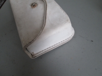 White windshield bag -  other side