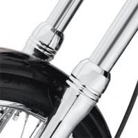 Dyna - billet fork slider dust covers